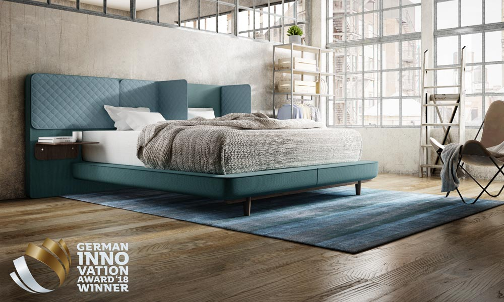 schlaraffia gewinnt german innovation award 2018 ring of fire gmbh. Black Bedroom Furniture Sets. Home Design Ideas