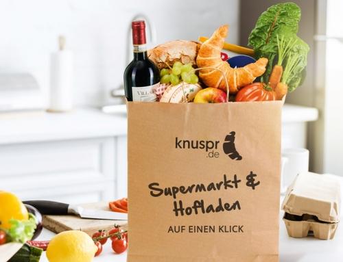 Knuspr wird die beste Auswahl im deutschen Lebensmittelhandel bieten