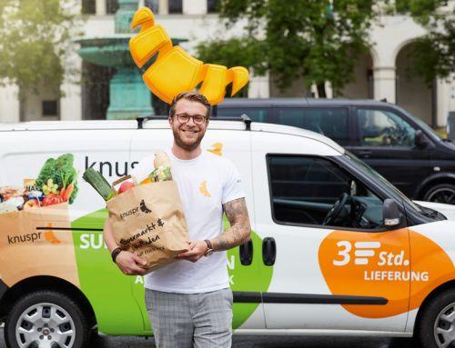 Deutscher Online-Supermarkt Knuspr launcht ersten Standort München